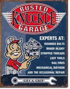 BUSTED -KNUCKLE- GARAGE