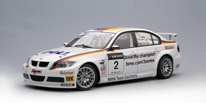 BMW 320si WTCC 2007 Team Germany J.Muller #2