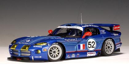 Dodge VIPER GTS-R LM GTS France 24H 2002 #52