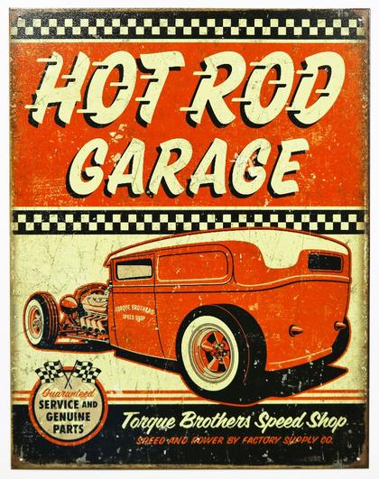 HOT ROD GARAGE 12.5'X16'  #E2106