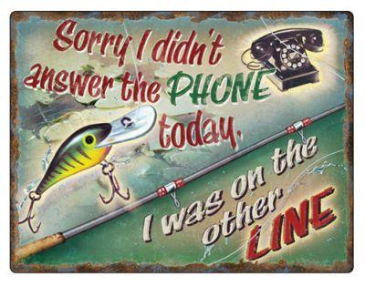 SORRY I DIDN'T ANSWER THE PHONE  #E1378