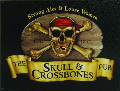 The SKULL and CROSSBONES Pub