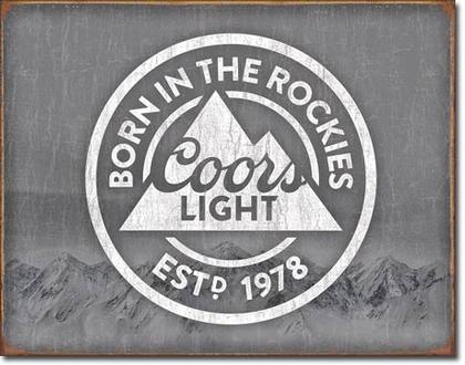 Coors Light - Born In    #E2181