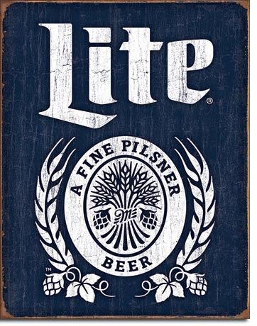 Miller Lite Bottle Logo #E2182