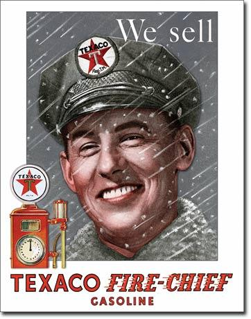 Texaco - Pump Attendant  #E2220