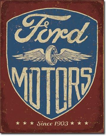 Ford Motors - Since 1903  #E2205