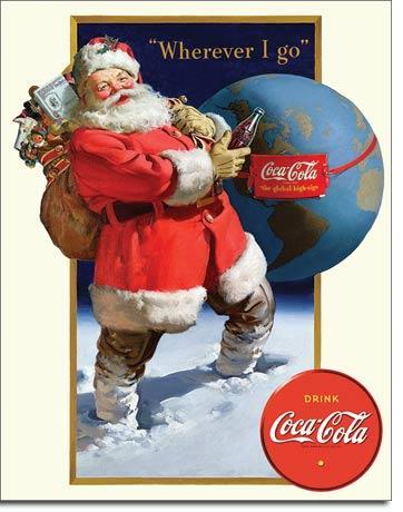 COKE - Santa Globe   SKU # E2189
