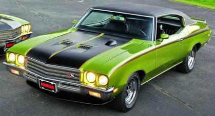 Buick GSX 1971 Hemmings Cover Car IN STOCK