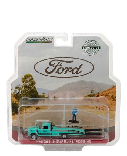 FORD F-350 1970 RAMP TRUCK & FIGURE HOBBY EXCLUSIVE