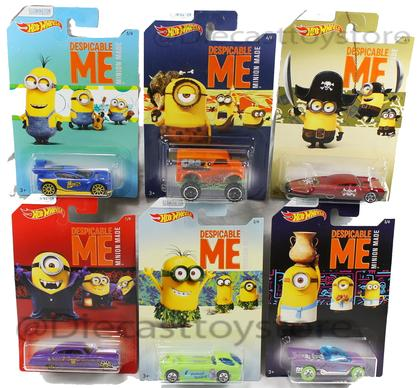 Hot Wheels 1/64 DESPICABLE ME -