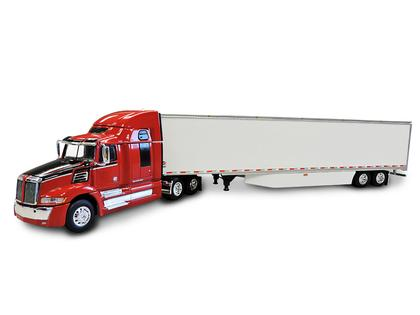 Western Star 5700 XE High Roof Truck with 53' Dry Goods Skirted Trailer