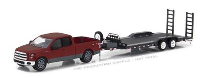 Ford F-150 2015 with Heavy Duty Car Hauler Hitch and Tow Series 11