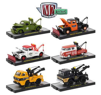 M2 Auto Trucks Release 44 Set Of 6 1/64