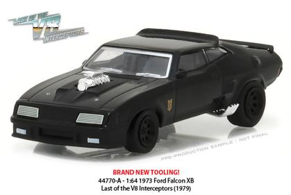 1:64 Mad Max Last of the V8 Interceptors 1972 Ford Falcon XB