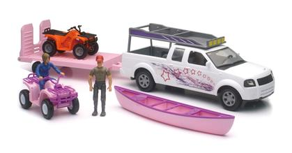 Pickup and ATV Playset