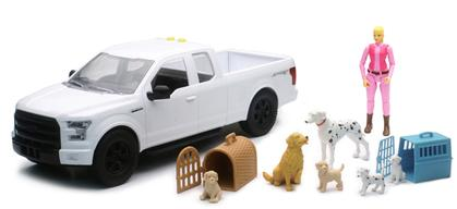 Ford F-150 Pickup Truck with Dogs Playset