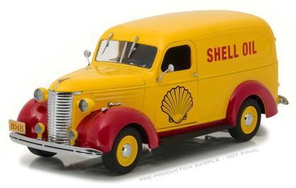 Chevrolet Panel Truck 1939 Shell Oil Running on Empty Series