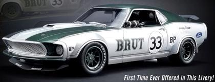Ford Mustang Boss 302 1969 #33 Allan Moffat