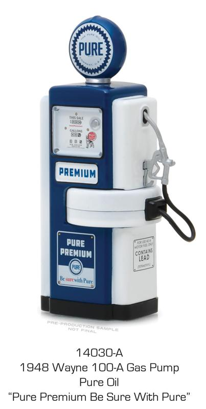 Pure Oil - 1948 Wayne 100-A Gas Pump