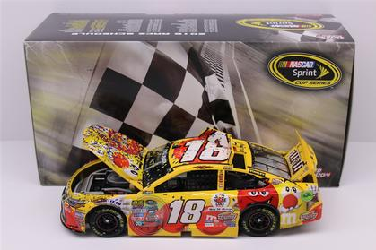 Kyle Busch #18 M&M's Brand Red Nose Day - Kansas WIN 2016 Toyota Camry (Raced Version)