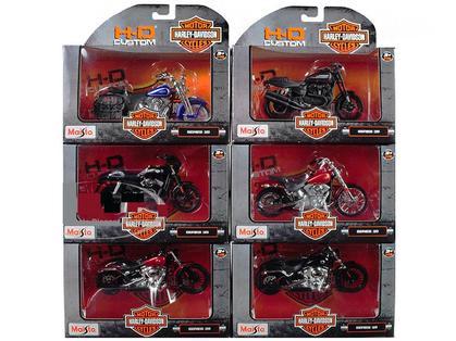 HARLEY-DAVIDSON SERIES 35 (6 MOTORCYCLES)