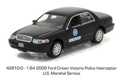 2008 Ford Crown Victoria Police interceptor U.S. MARSHAL SERVICE