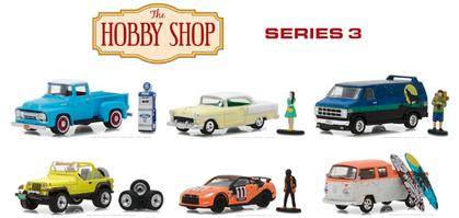 The Hobby Shop Series 3 1:64 set