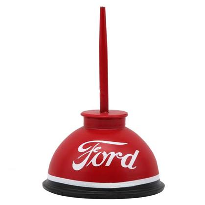 FORD EMBOSSED TIN OIL CAN (4