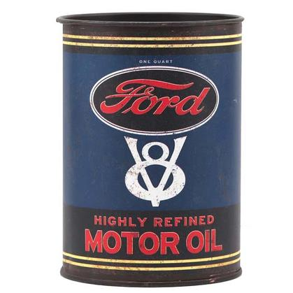 FORD MOTOR TIN OIL CAN