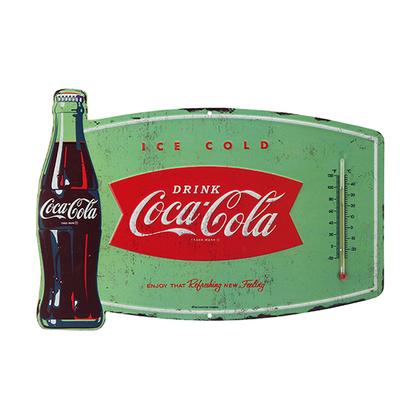 COCA-COLA TIN THERMOMETER 14