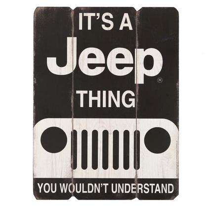 IT'S A JEEP THING WOOD WALL ART 12