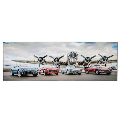 CHEVROLET AND PLANES HOLLOW WALL DECOR 28