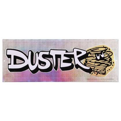 DUSTER EMBOSSED TIN SIGN (16