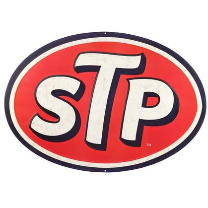 STP EMBOSSED TIN SIGN (30