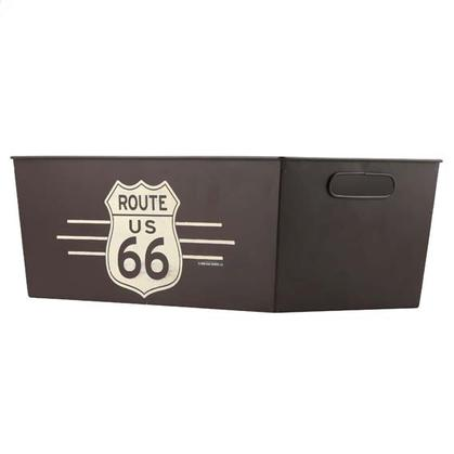 ROUTE 66 TIN CONTAINER (18