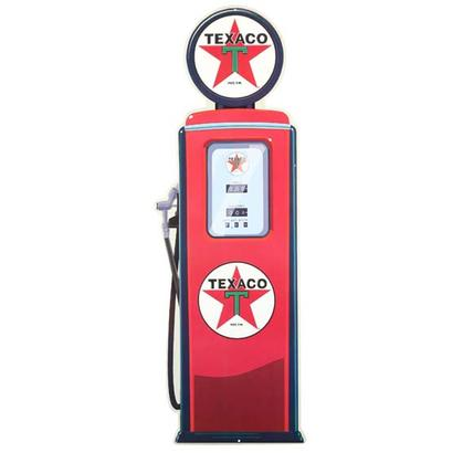 TEXACO FUEL PUMP EMBOSSED TIN SIGN (11