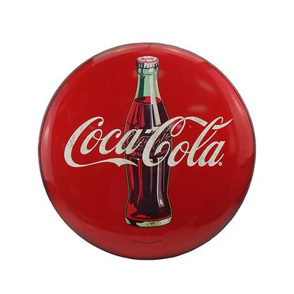 COCA-COLA TIN BUTTON (24