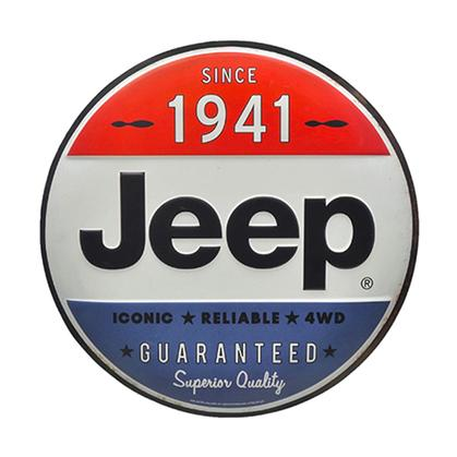 JEEP SINCE 1941 TIN BUTTON (12