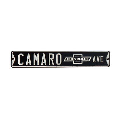 CAMARO EMBOSSED TIN STREET SIGN (20