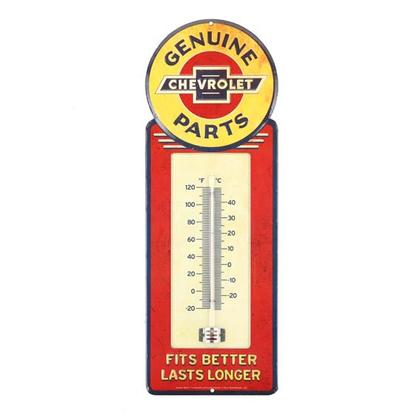 CHEVROLET TIN THERMOMETER (5.5