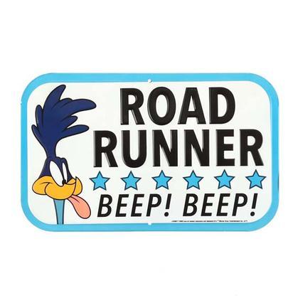 ROAD RUNNER EMBOSSED TIN SIGN (12