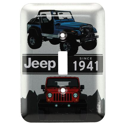 JEEP COLLAGE SWITCH PLATE (3.5