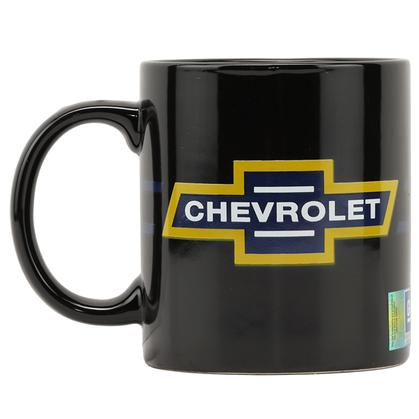 CHEVROLET LOGO CERAMIC 16 OZ. MUG