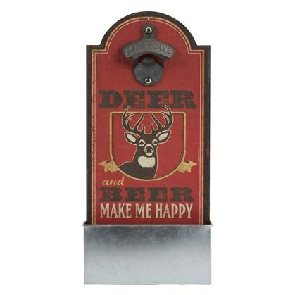 DEER & BEER BOTTLE OPENER (6