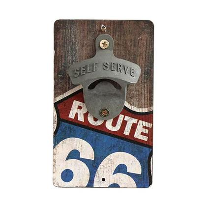 ROUTE 66 BOTTLE OPENER (3.5