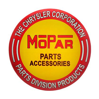 MOPAR TIN BUTTON 24