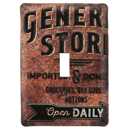 GENERAL STORE SWITCH PLATE 3.5