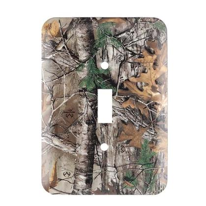REALTREE CAMO SWITCH PLATE 3.5