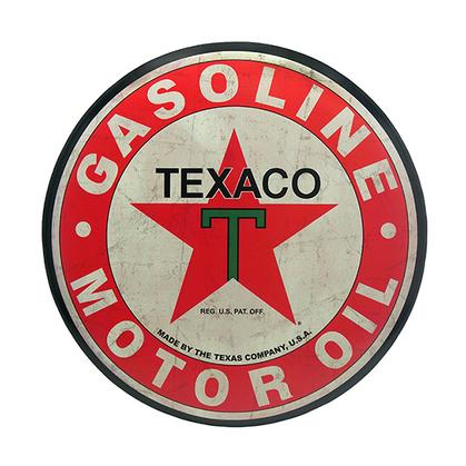 TEXACO TIN BUTTON 24