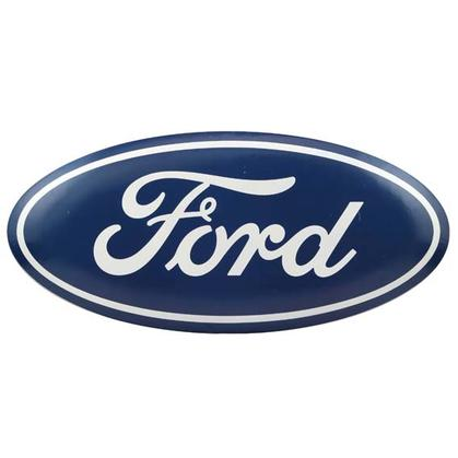 FORD OVAL TIN BUTTON 30